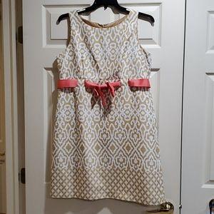 Jessica Howard Sleeveless Dress Sz 14